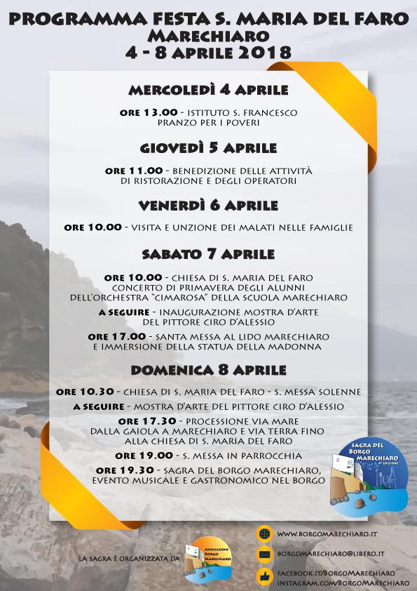 programma festa marechiaro